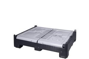 Klappbarer Palettenbehälter geschlossen FP-DLK 1210