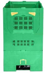 Klappbarer Palettenbehälter mit Lüftungsschlitzen
