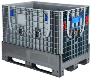Klappbarer Palettenbehälter geschlossen FP-FLC1208K (1)